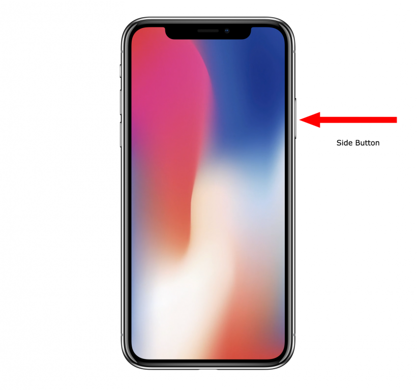 How to force restart iPhone X.