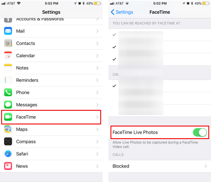How to take live photos of FaceTime calls on iPhone and iPad.