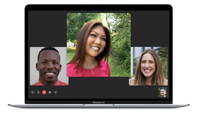 How to make a group FaceTime call from your Mac.