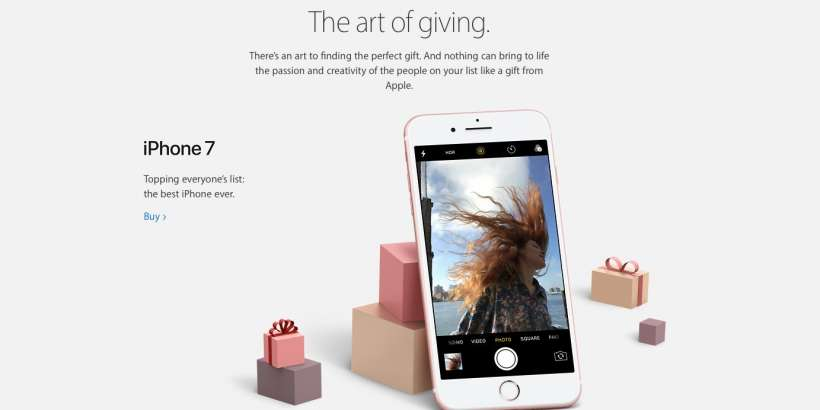 2016 Apple Gift Guide