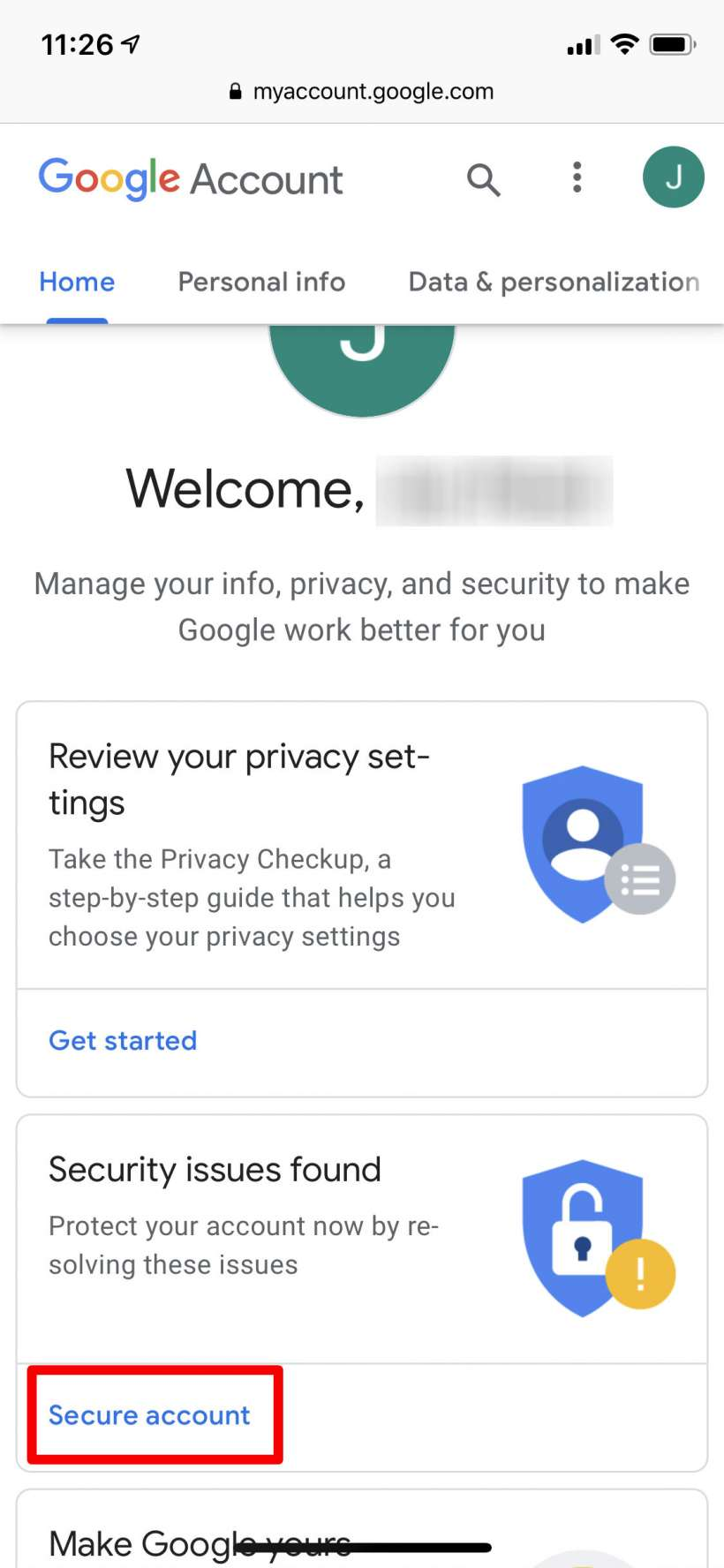 How to check and revoke third party access to your Google account.