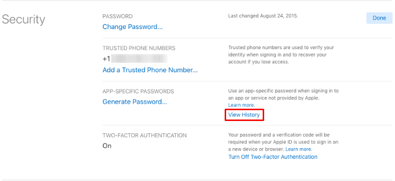 How to generate app-specific passwords for third party apps on iPhone and iPad.