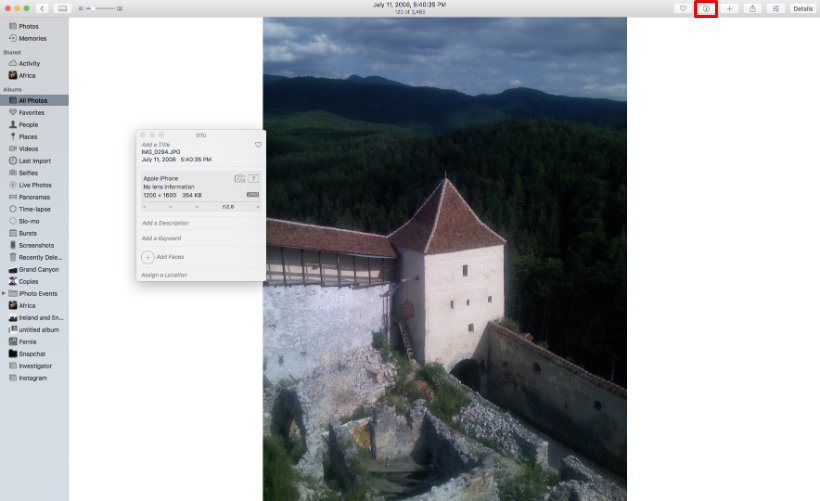 How to geotag photos on iPhone and iPad.