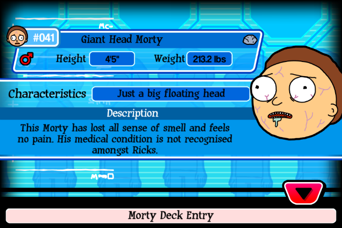 Giant Head Morty