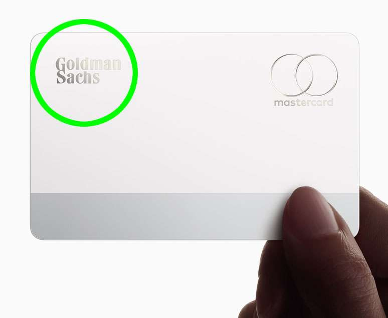 Goldman Sachs first consumer credit card