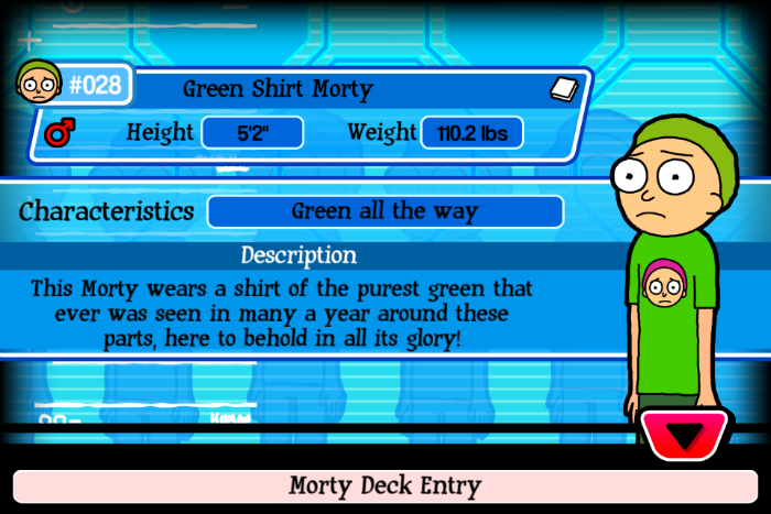 Green Shirty Morty
