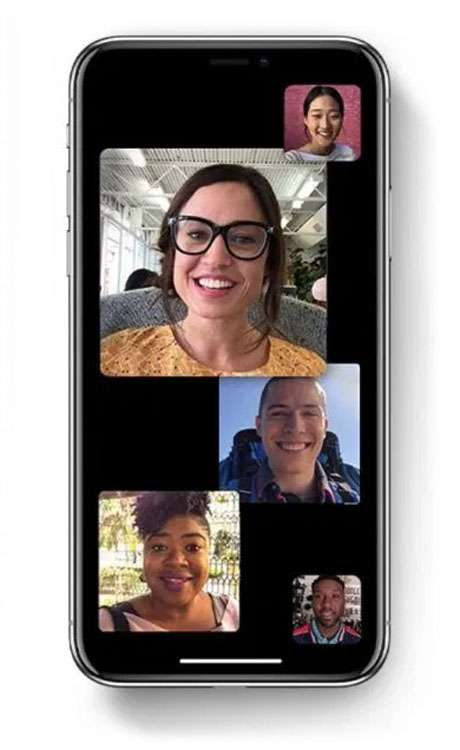 Group FaceTime iPhone