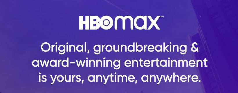 HBO Max purple logo