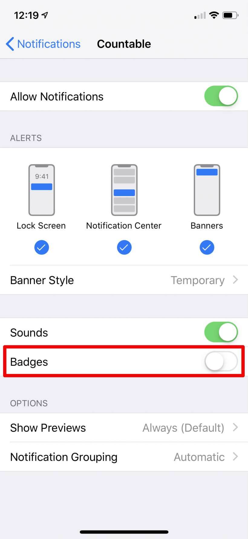 How to stop notification badges on iPhone and iPad.