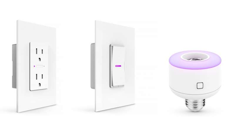 Siri-controlled ceiling fans, dimmer switches and more