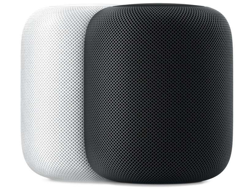 Apple HomePod side no power cord