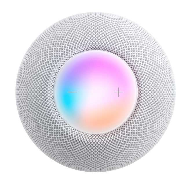 HomePod mini white skyward