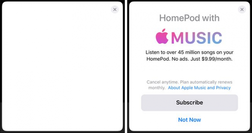 HomePod setup Apple Music