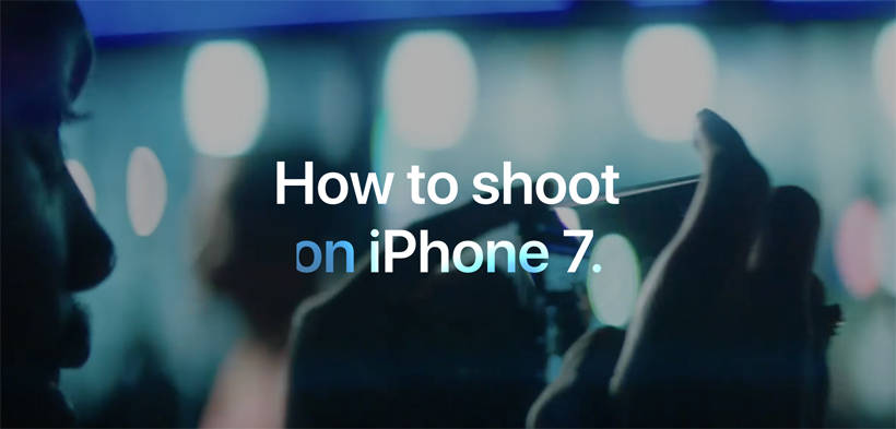 Apple How to Shoot on iPhone 7