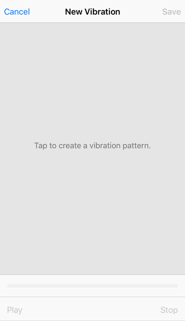 iOS custom vibration 4