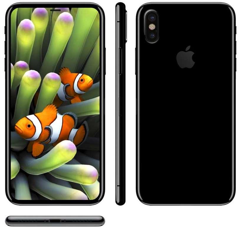 iPhone 8 Mock up by Benjamin Gasking
