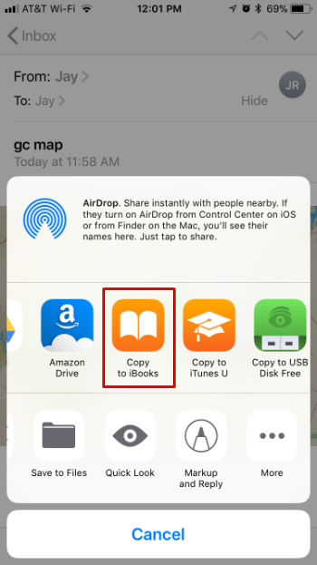 How to transfer PDFs from your Mac or PC to iBooks on your