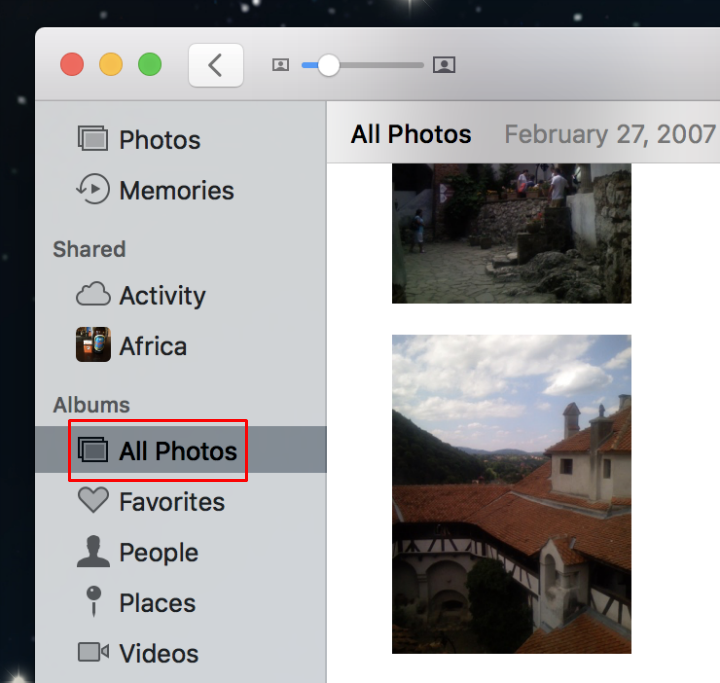 How to activate iCloud Photo Library on Mac.