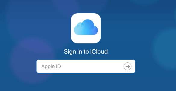 iCloud Sign In