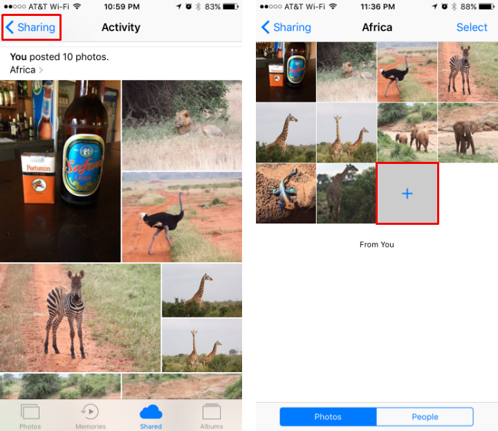 how to add photos to iphone without icloud
