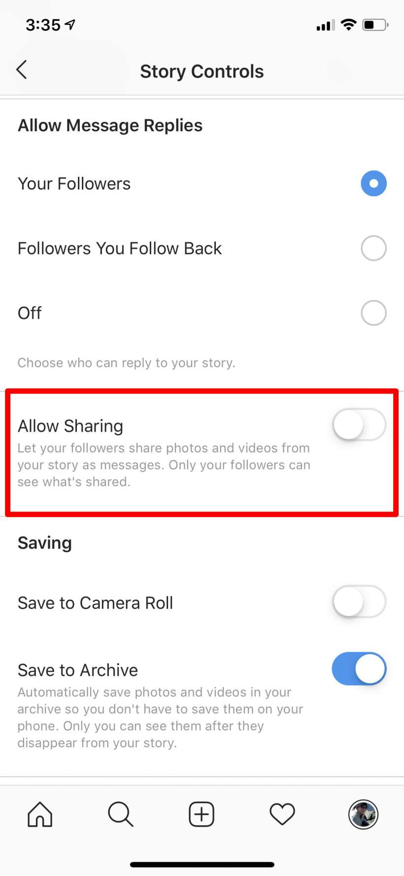How to stop your Instagram stories from being shared in messages on iPhone and iPad.