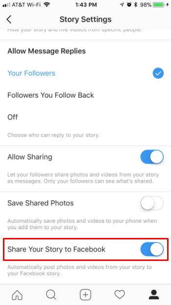 How to cross-post Instagram stories to Facebook stories on iPhone and iPad.