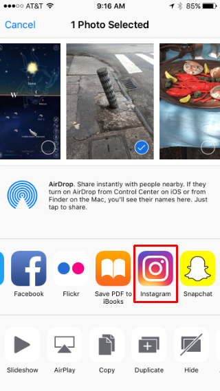 how to share apps on iphone how to photos on instagram right from your iphone s 19097