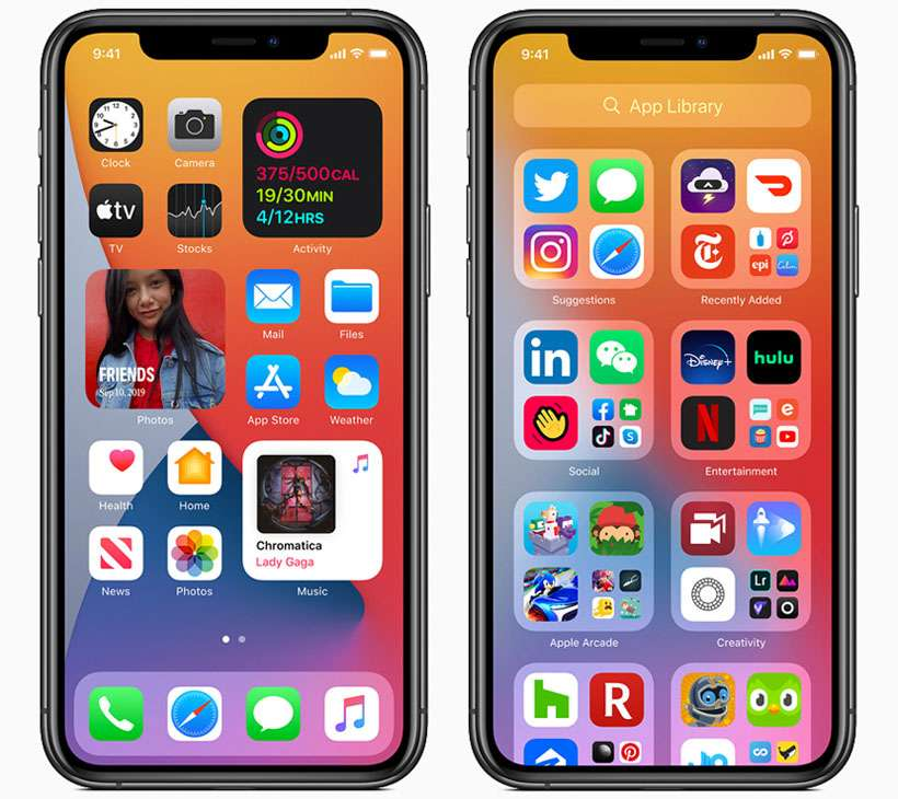 iOS 14 customization
