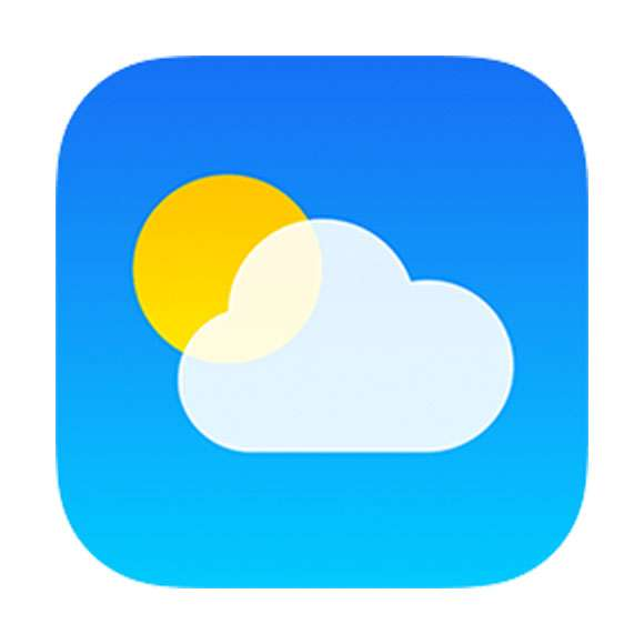 iOS Weather app