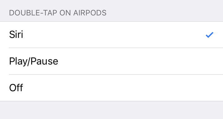 AirPods Bluetooth Settings iOS 10
