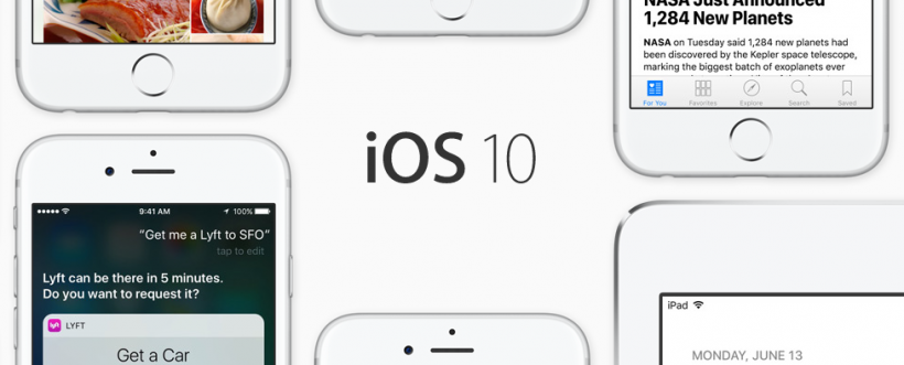iOS 10 Public Beta available