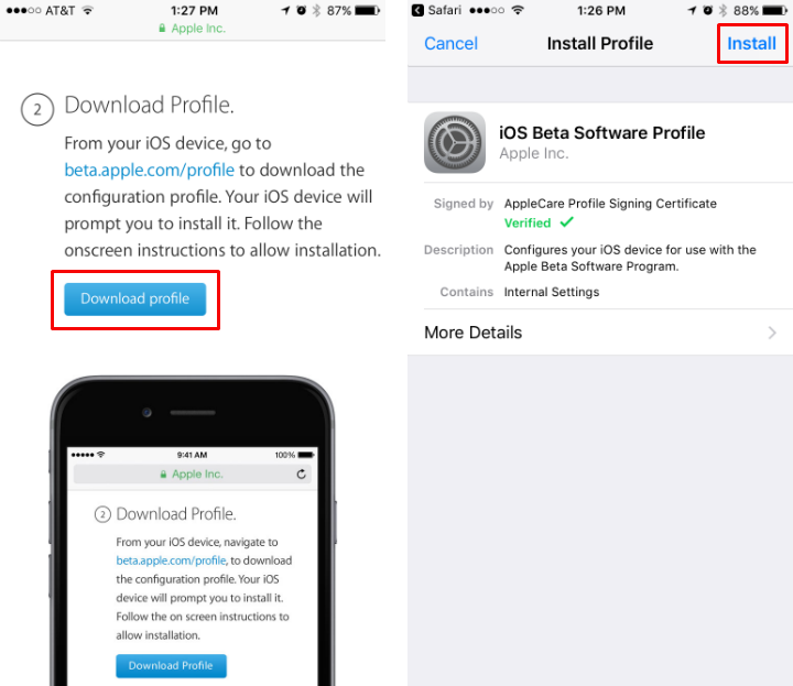 How to install iOS 11 public beta on iPhone and iPad.