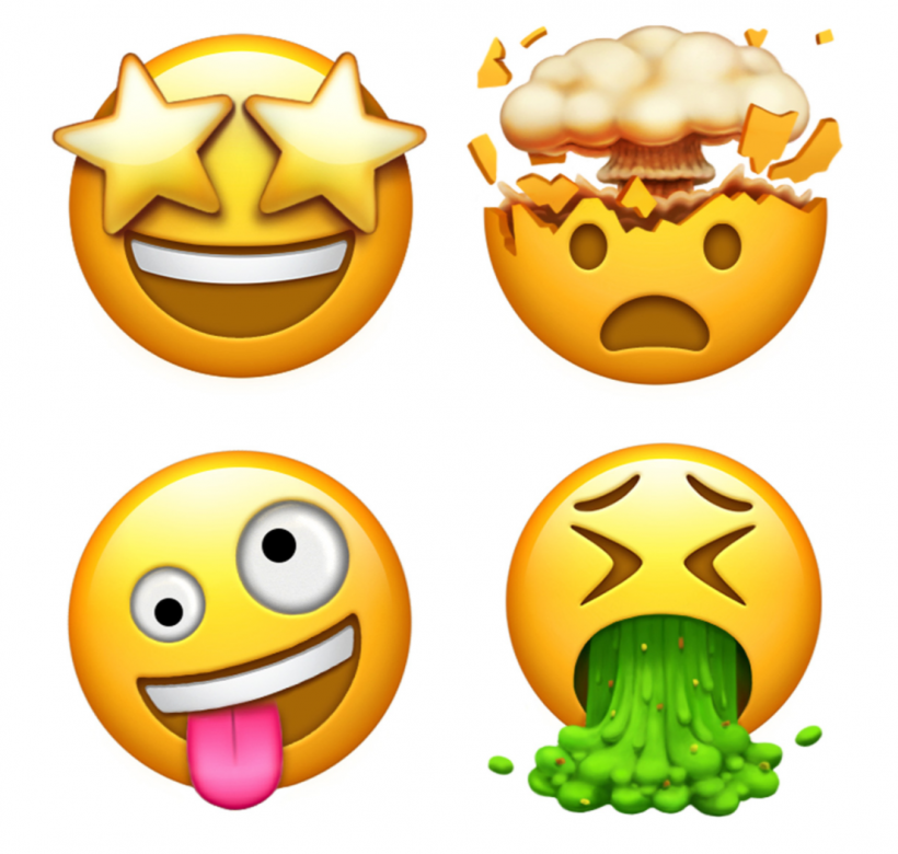 Apple emoji preview 2017