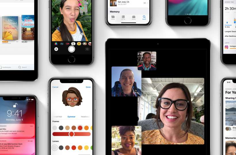 iOS 12 preview