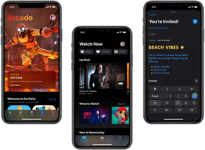 iOS 13 installed