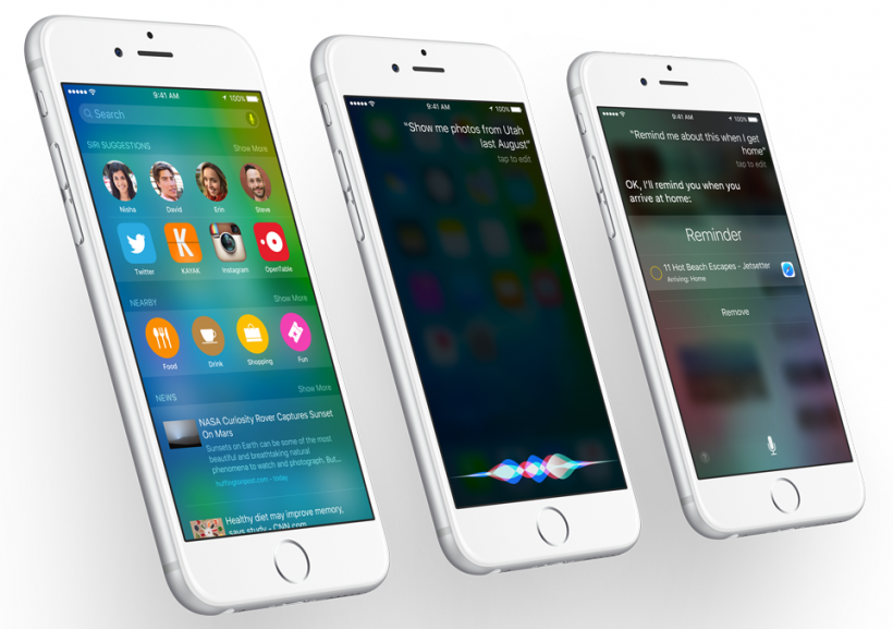 Apple releases first iOS 9 public beta.