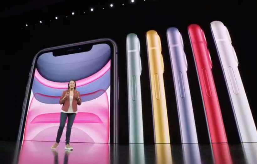 iPhone 11 colors