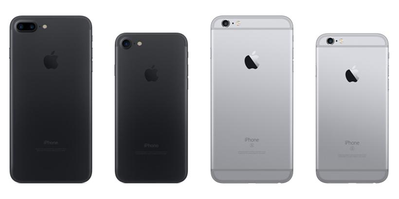 iPhone 7 vs iPhone 6s comparison
