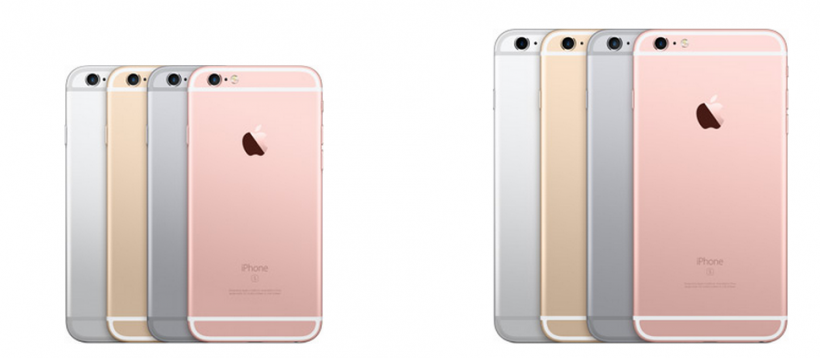 iPhone 6s and 6 Plus