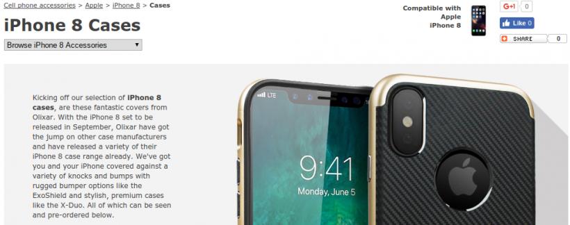 Olixar iPhone 8 Case