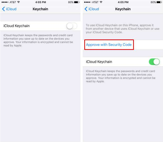 How to use iCloud Keychain with Safari.