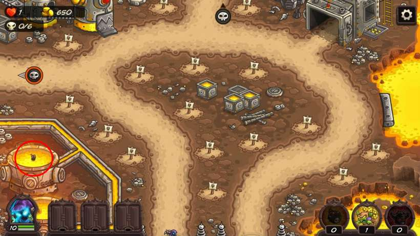Kingdom Rush Vengeance Achievments