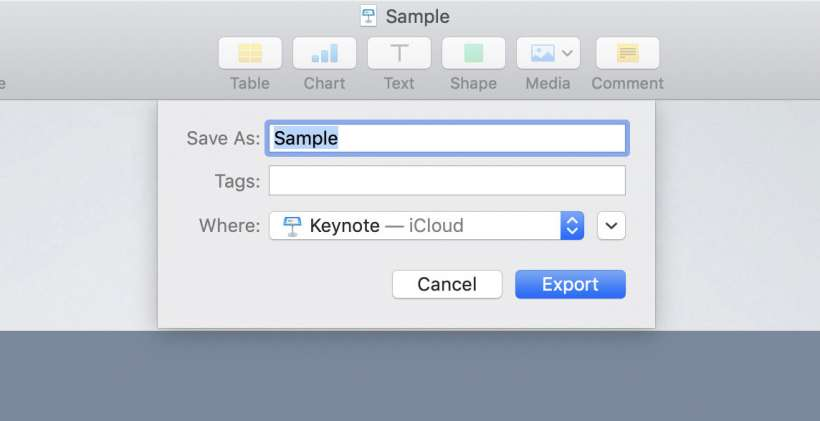 How to convert Keynote presentations to PowerPoint or PDF on iPhone
