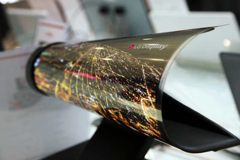 18-inch LG Foldable Display