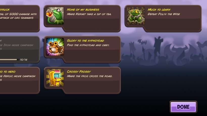 Maginicia Achievements
