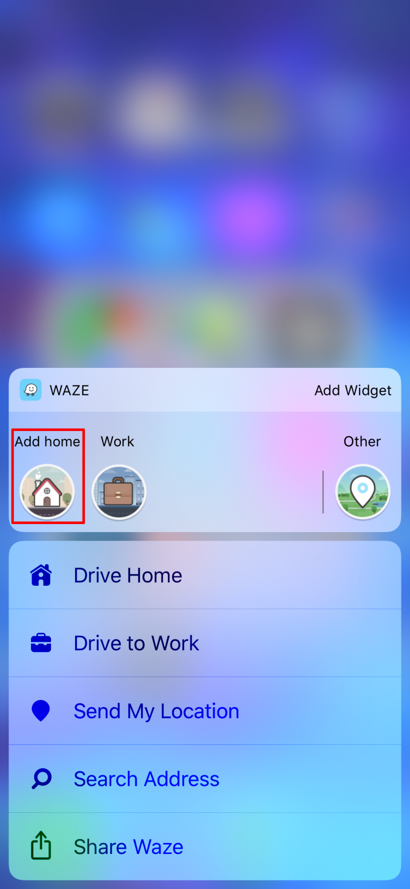 How to add a Home shortcut to Waze, Google Maps and Maps to quickly get directions on iPhone.