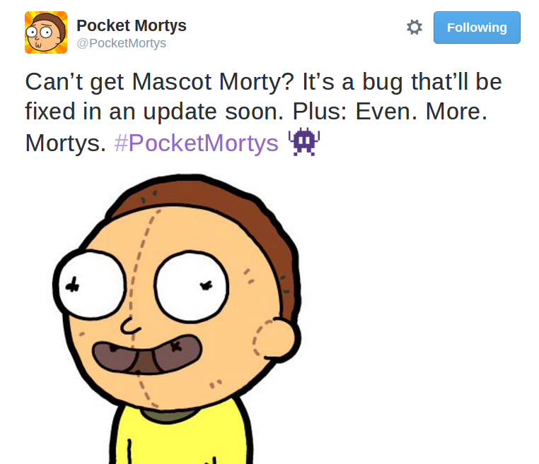 Mascot Morty Bug