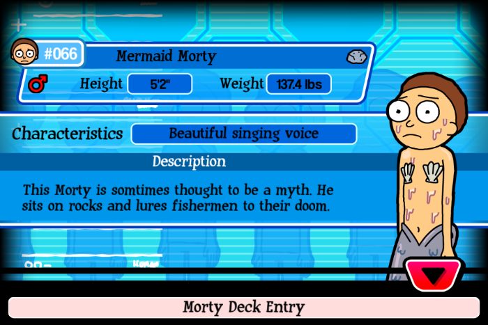 Mermaid Morty