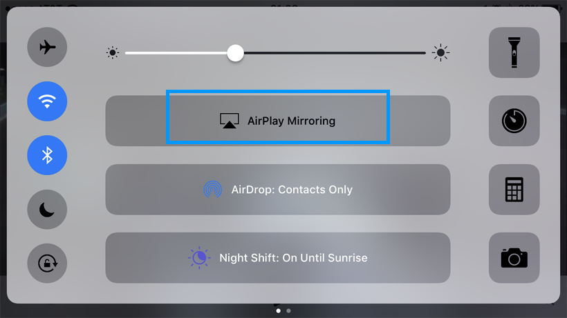 AirPlay Mirroring