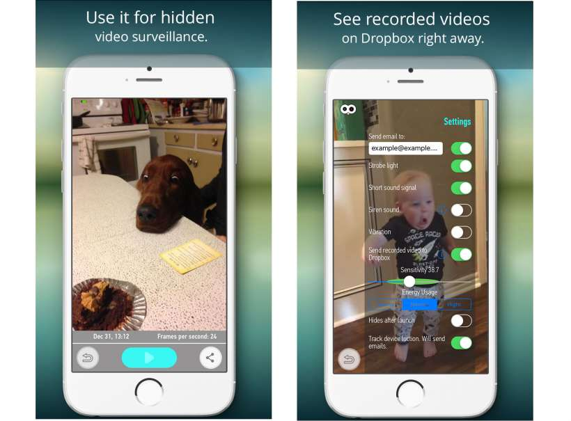 New app transforms your iPhone into a motion sensing camera